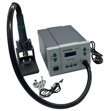 VIPFIX Quick 861DW Hot Air Rework Station with LCD Display 110V 1000W Digital Solder Rework Station