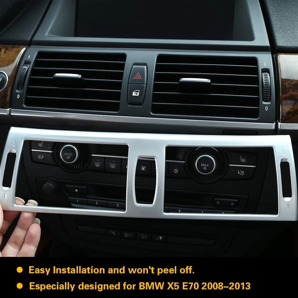 Auto Galvanik Rahmenabdeckung f/ür Air Condition Auslass f/ür X5 E70 2008-2013 Air Condition Vent Trim