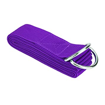 Cinturón de estiramiento de yoga, correa de banda ajustable ...