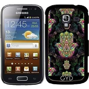 Funda para Samsung Galaxy Ace 2 (GT-I8160) - Hamsa Amuleto Mano Psicodélica by BluedarkArt