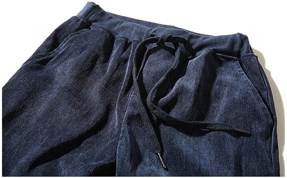 VPASS Pantalones para Hombre, Pana Pantalones Moda Japonés Pop ...