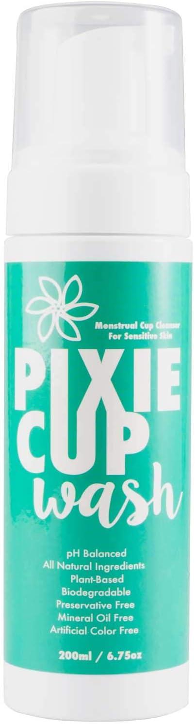 Pixie Cup Mejor que la diva menstrual Copa líquido de lavar que ...