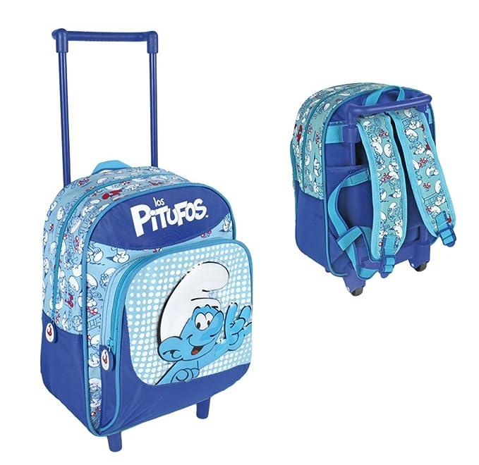Los Pitufos mochila infantil diseño carro (Cerdá 2103/539 ...