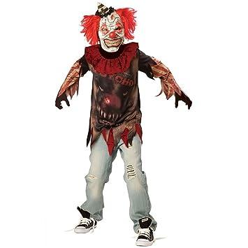Déguisement enfant Clown Tueur Psychopathe Halloween - Taille 10-12 ... 183d4151293