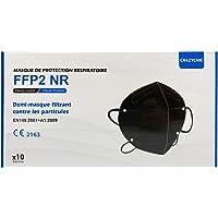 CRAZYCHIC - Mascarilla FFP2 Negra Homologada Certificada CE EN149 - Mascarilla de Protección Respiratoria - Protectora…