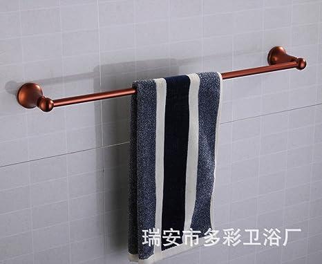 Accesorios de Baño, Toalla de baño o cocina Bar titular de Rack de almacenamiento de montaje en pared,organizar todo el estante con toallas y toallas ...