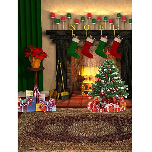 WinnerEco Christmas 5D Embroidery Diamond Painting Craft Kit Home Wall Decor for Adults and Kids Christmas Gift (Style (Christmas Crafts For Adults)