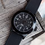 20mm Black - Barton Elite Silicone Watch Bands