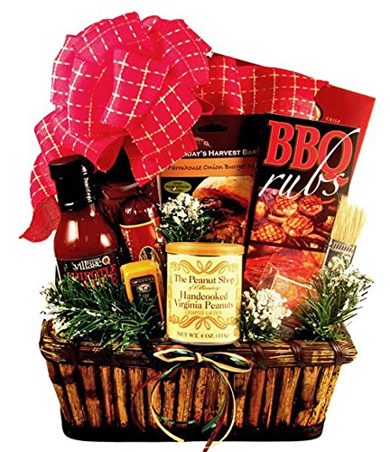 BBQ Holiday Gift Basket for Men - Size Small by Gifts to Impress