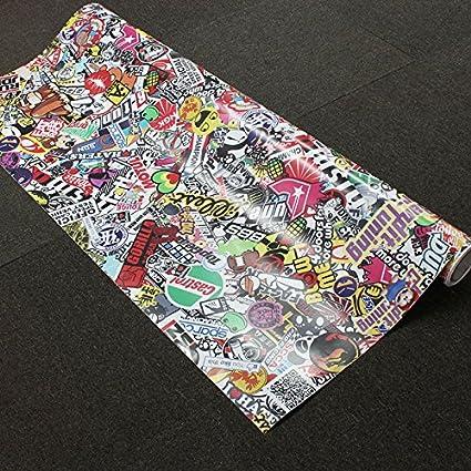 cm 10 erreinge Sticker Bomb Punisher CR/ÂNE Autocollant en Forme de PVC pour Voiture Lunette Fenetre Moto Scooter Casco