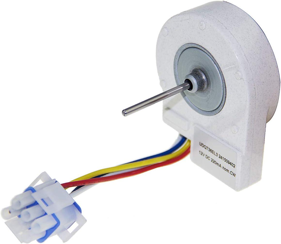 Refrigerator Evaporator Fan Motor 241509402 Compatible with Frigi daire AP3958808 PS1526073 241509401