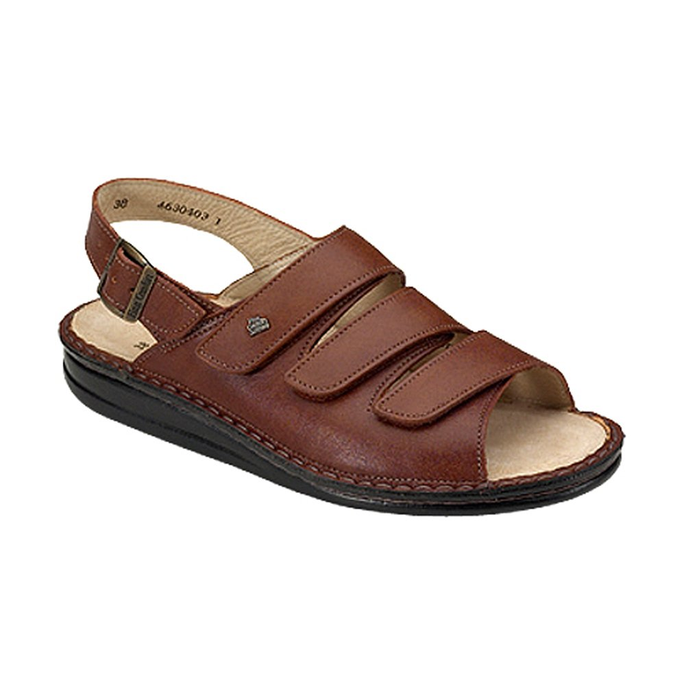 Finn Comfort Soft Sylt Womens Sandals, Brandy Country, Size - 41