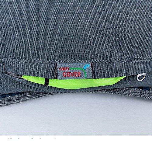 Sincere® Verpackung / Rucksäcke / Mobil / Ultrabreath Suspension Tragen Berg pack / tragen wasserdichte Wander Camping im Freien Paket-blau 50L