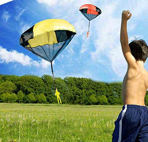 GCA Tangle-Free Toy Parachute, Multi-Color (Tangle Free Toy Parachute)