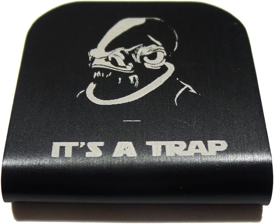 Morale Tags Admiral Ackbar It's A Trap Star Wars Hat Clip for Tactical Patch Caps