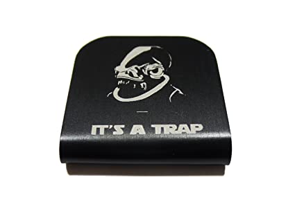 Admiral Ackbar It s A Trap Star Wars Morale Tags Hat Clip for Tactical  Patch Caps ( 0feeff5cb92