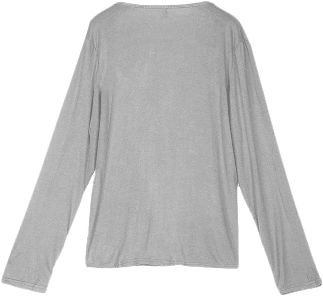 Amiley Hot Sale Women Casual Long Sleeve Solid Non-Button Pocket Cardigan Tops Cover Up Blouse