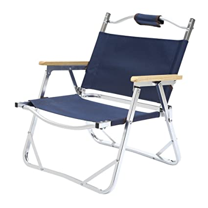 Seatopia Oversize Camp Quad Chair Folding Aluminum Chairs Lightweight For  Camping, Fishing, BBQ,