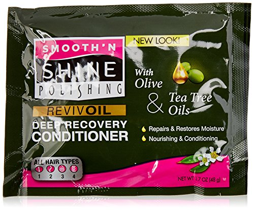 Price comparison product image Smooth N Shine Revival Deep Recovery Conditioner, Olive/Tea Tree, 1.7 Ounce