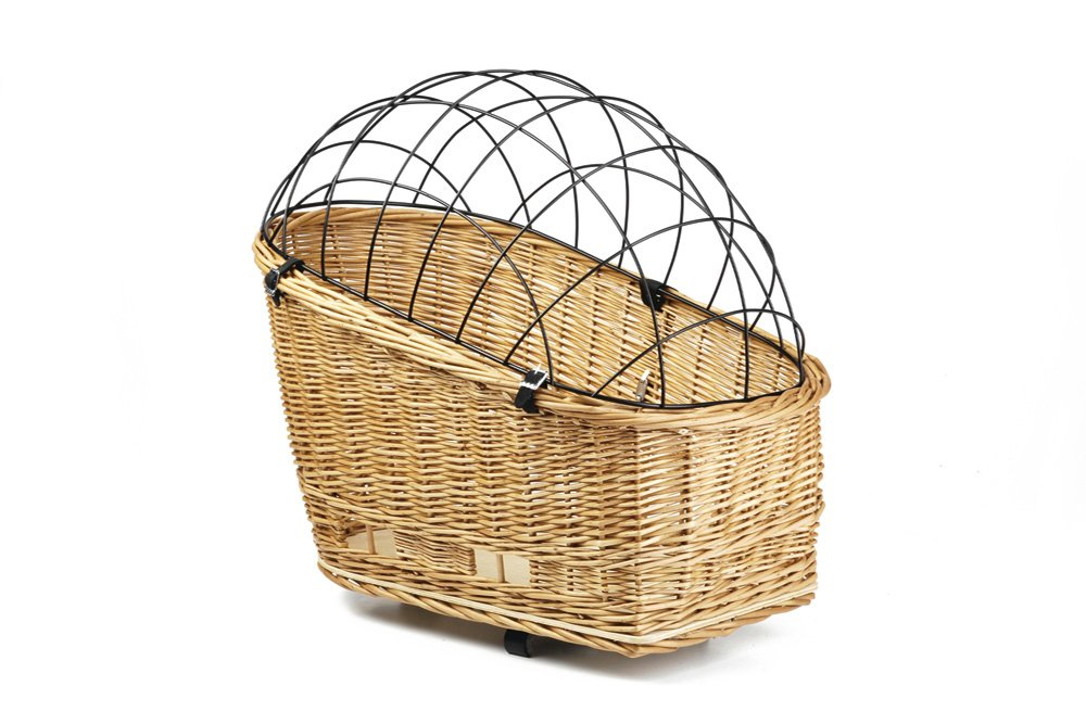 50 x 27 cm Beeztees Willow Basket for Carrier with Cap, 50 x 27 cm