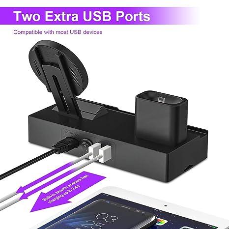 Amazon.com: Soporte de carga inalámbrico 6 en 1 compatible ...