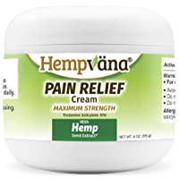 As Seen On TV Hempvana Pain Relief Cream for Arthritis by BulbHead - The Hemp Cream...