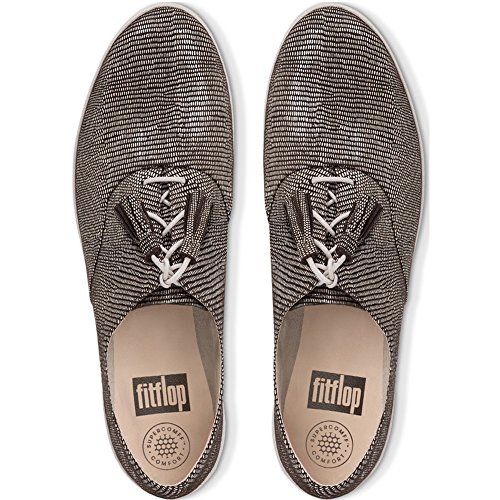 Fitflop Tassel Zapatos Superoxford Mujer De Cordones Para Oxford Chocolate Classic rCFS5xr