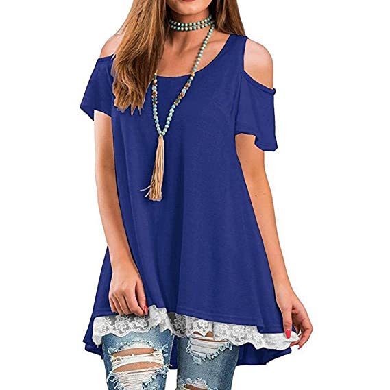 Camisetas Mujer,❤Venmo Tops Mujer,Camisas Mujer,Blusas de Mujer,Camiseta