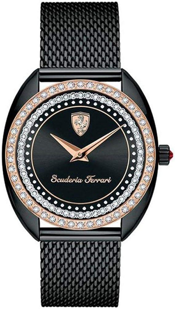 Scuderia Ferrari 820011 Women S Watch Amazon De Uhren
