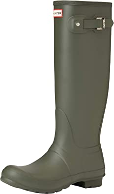 TALLA 40/41 EU. HUNTER High Wellington Boots, Botas de Agua Mujer