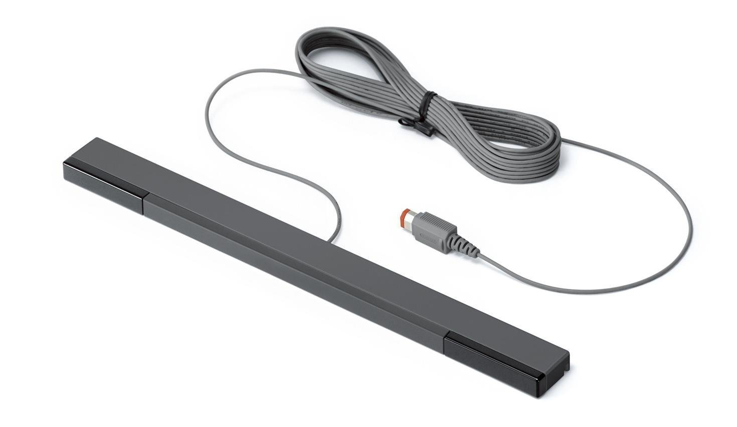 Nintendo Sensor Bar Black Wired Official RVL-014 For Wii (Certified Refurbished)