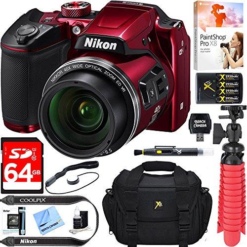 nikon-coolpix-b500-16mp-40x-optical-zoom-digital-camera-w-built-in-wi-fi-nfc-bluetooth-red-64gb-sdxc