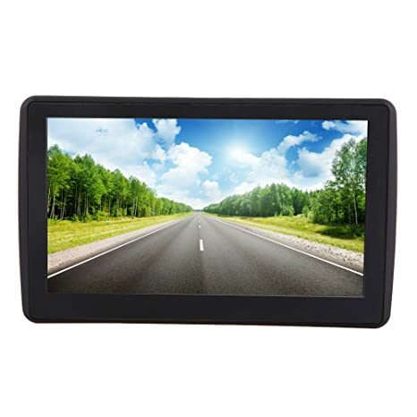 """KKmoon 7 """" Pantalla Táctil de Alta Definición Multifunción Navegación GPS Portátil Coche 128MB RAM"""