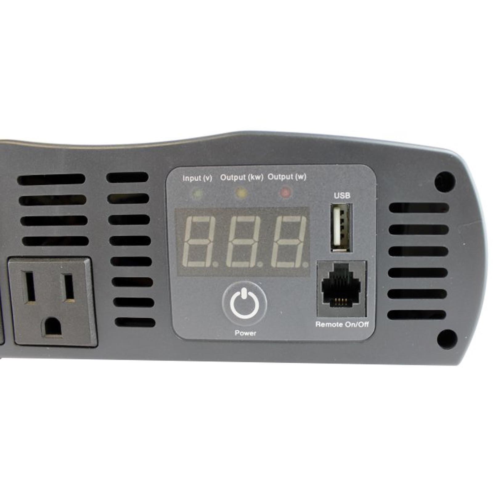 Cobra CPI 1575 1500 Watt 12 Volt DC to 120 Volt AC Power Inverter by Cobra (Image #6)