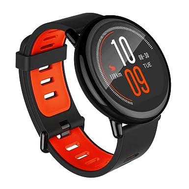 Xiaomi AMAZFIT Pace - Smartwatch con GPS Multideporte 1.34inch Táctil, Bluetooth, Monitor de Ritmo Cardíaco, iOS y Android (Negro) - (Reacondicionado)