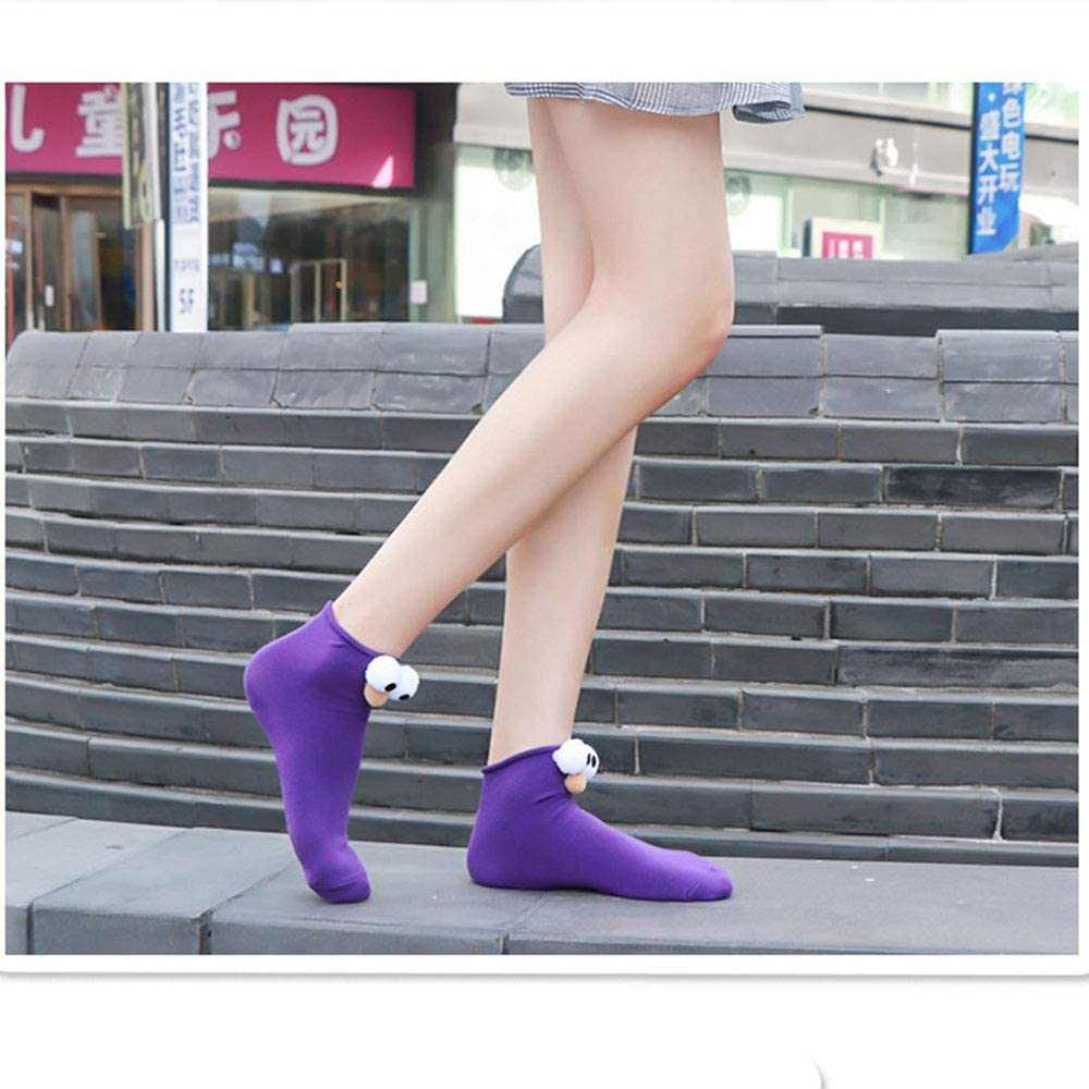 Women Breathable Short Crew Socks for Outdoor Sports whatUneed Casual Low Cut Ankle Socks for Girls