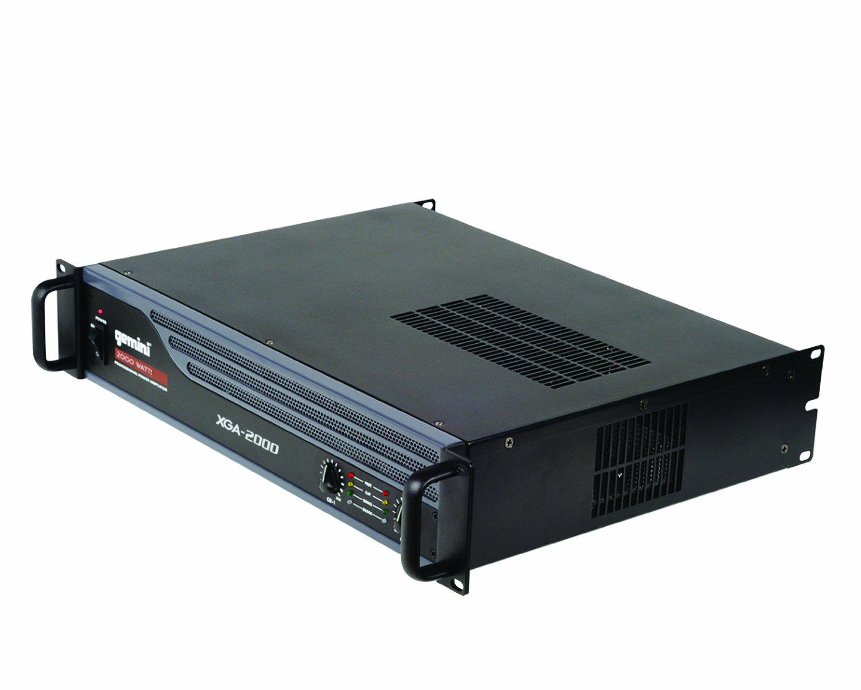 2000 Watt Max, 2//1 canali, ponticellabile, limitatore Gemini XGA-2000 Amplificatore finale di potenza Hi-Fi
