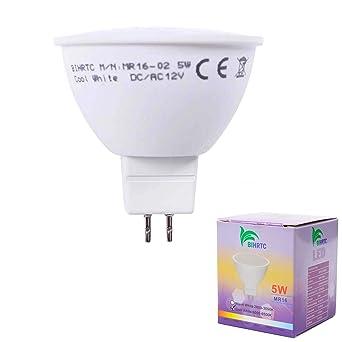 GU5.3 Spot 3 5 10 Stück MR16 LED Leuchtmittel 6W 120° Kaltweiß Warmweiß RA/>80