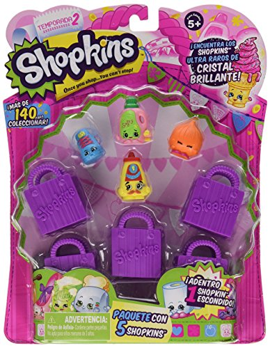 Shopkins Season 2 (5-Pack) (Styles Will Vary) from Shopkins