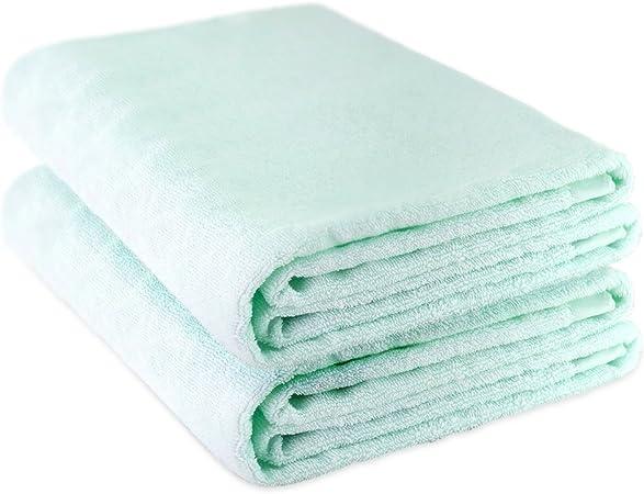 Oasis cáñamo algodón Toallas de playa toalla de baño (2 unidades ...