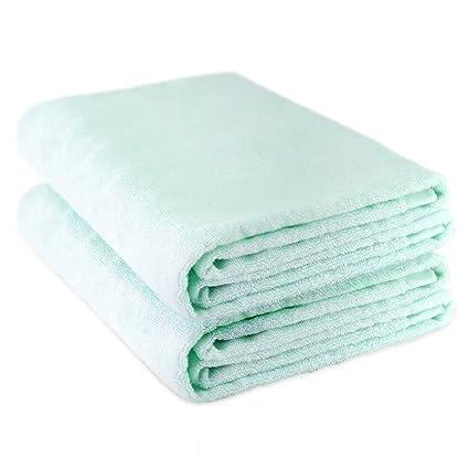 Oasis cáñamo algodón Toallas de playa toalla de baño (2 unidades, seguridad y normas