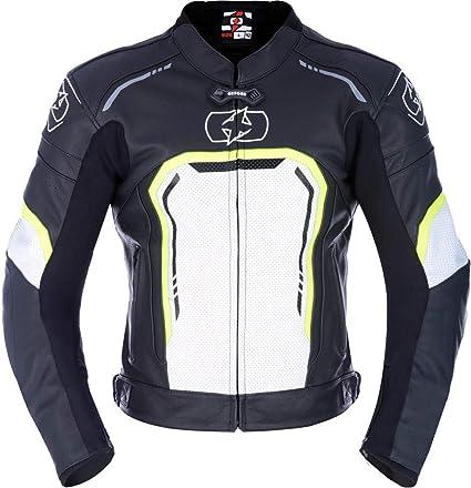 Oxford Strada MS - Chaqueta Deportiva (Piel), Color Negro y ...