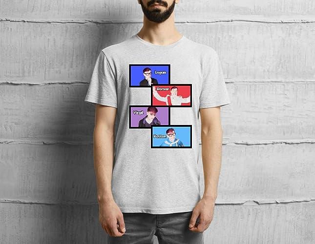Sanders Sides Slides-Logan, Roman, Virgil, Patton - T-Shirt