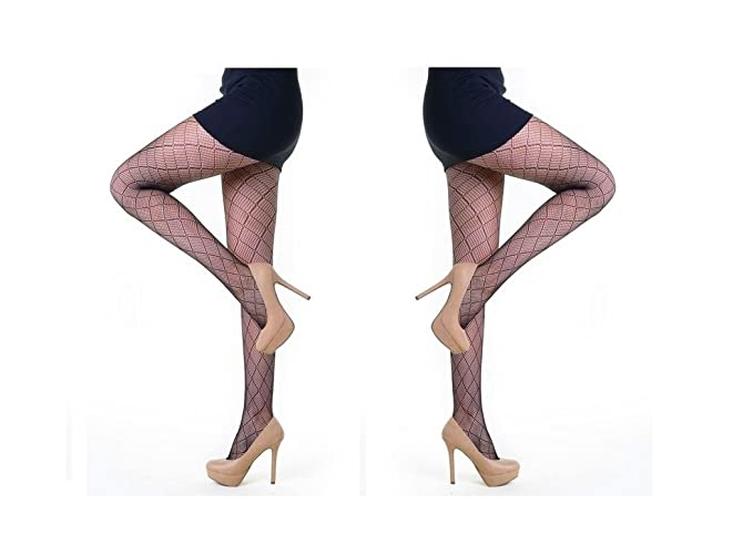8543ea069 Yelete Killer Legs Fashion Tights Fishnet Pantyhose Small