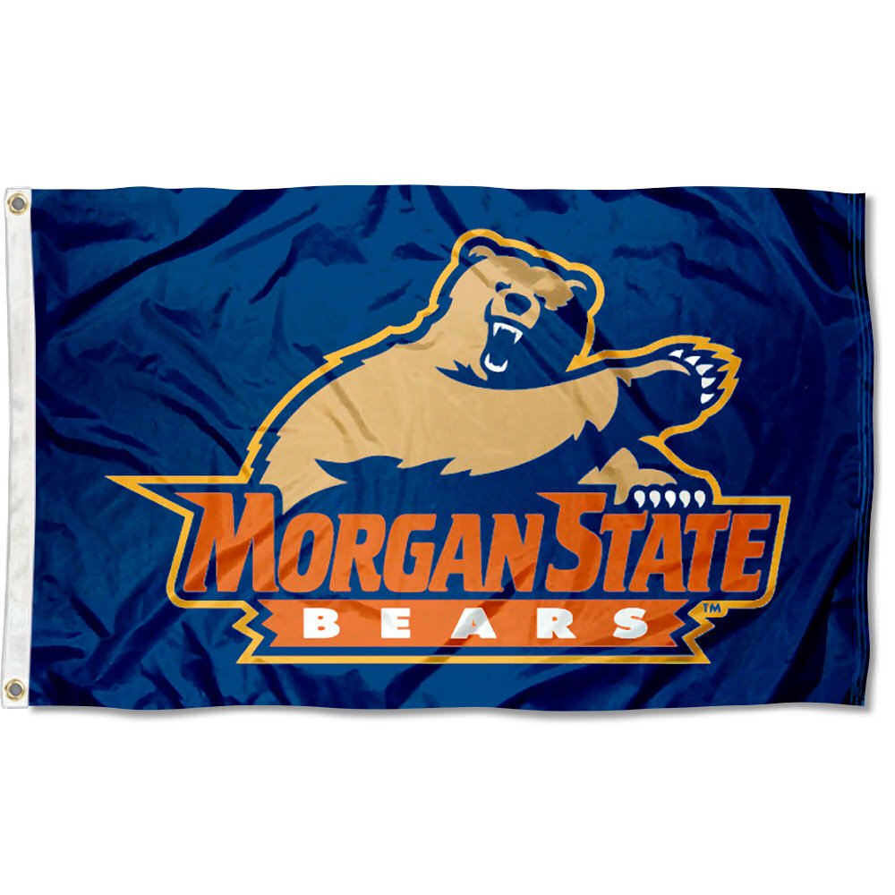 Morgan State Bears University Large College Flag
