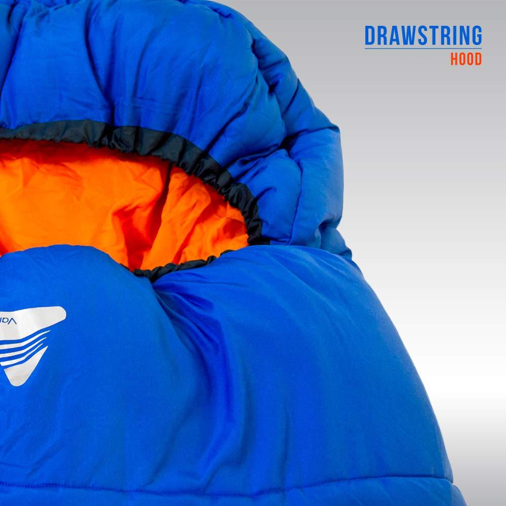 Color Azul Saco de Dormir Momia para Acampada Vango Cadair 250 Mummy Sleeping Bag
