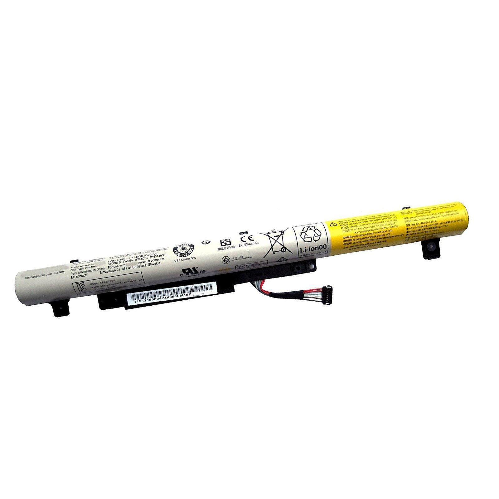 Bateria para Lenovo L13L4E61 7.44V 41.6wh IdeaPad Flex 2-14 IdeaPad Flex 2-15 L13S4E61 2ICR19/66-2
