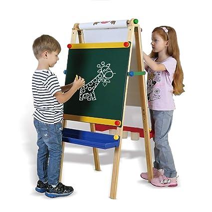 Caballete para niños Tablero de Dibujo para niños Caballete ...