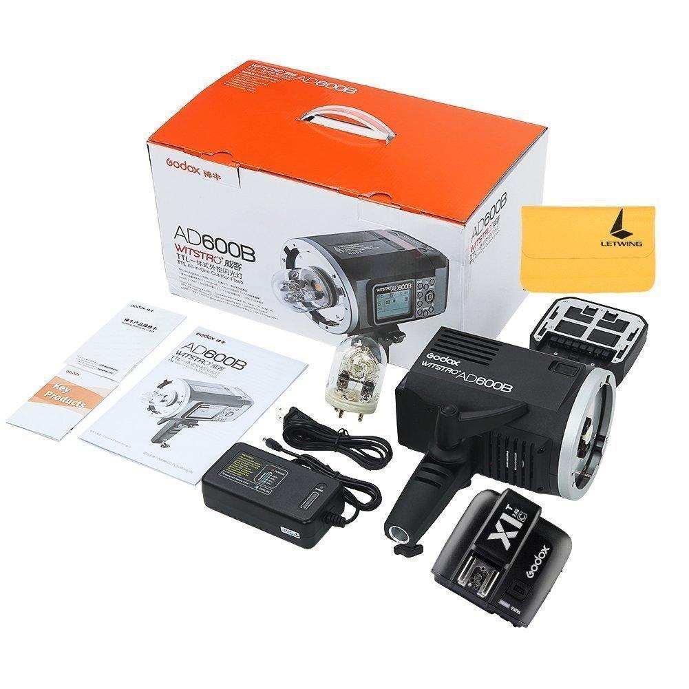Godox AD600B TTL Bowen Mount GN87 600W HSS 1/8000s 2.4G Wireless with 8700mAh Lithium Battery Outdoor Studio Strobe Flash,Godox XPro-F Flash Trigger for Fuji Camera by Godox (Image #9)