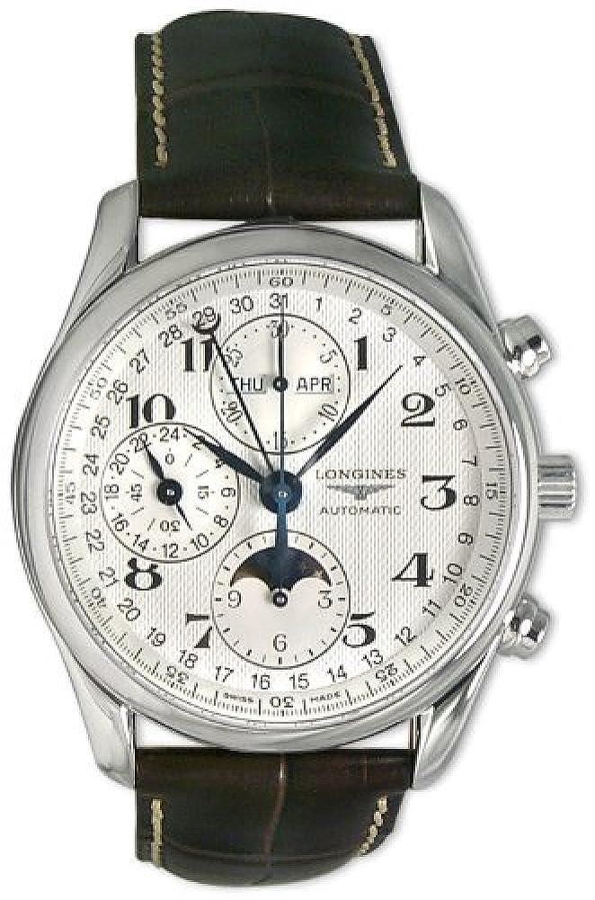 [ロンジン]Longines 腕時計 Master Collection Chronograph Watch L26734783 メンズ [並行輸入品] B0182SC3VU